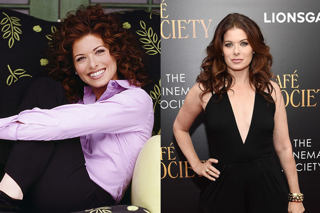 Debra Messing (Grace Adler)
