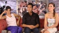 Clara Lago, Mario Casas y María Valverde: