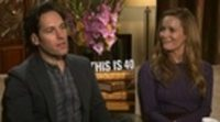Entrevista exclusiva Paul Rudd y Leslie Mann 'Si fuera fácil'