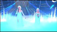 'Let it go' interpretada por Roko y Carla de 'Tu cara me suena Mini'